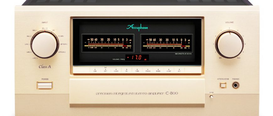 Accuphase E-800 introductie show